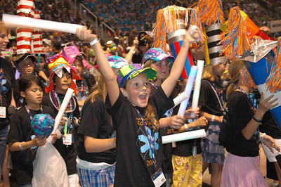 Destination ImagiNation Opening Ceremony